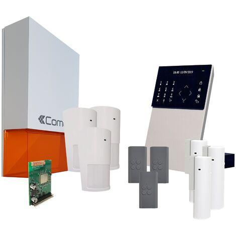 Comelit - Pack alarme connectée Secur Hub - KSW3223LF Kit 2 - Blanc