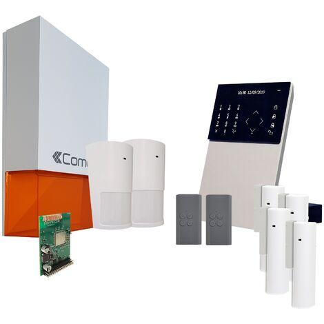 Comelit - Pack alarme connectée Secur Hub - KSW3223LF Kit 3 - Blanc