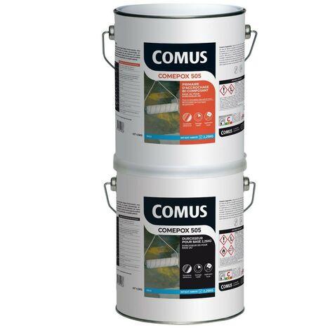 COMEPOX 505- 4,5 KG Primaire d'accrochage bi composant pour la rénovation des sols et des murs - COMUS