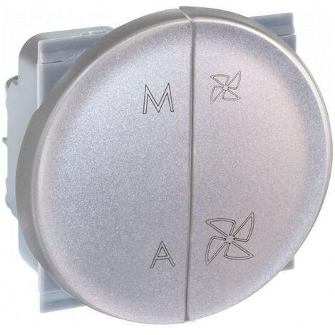 COMETE Cde VMC 2 vitesses + Marche/Arrêt SILVER (61325)