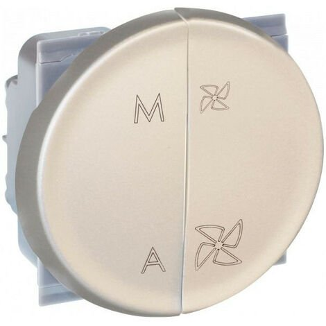 COMETE Cde VMC 2 vitesses + Marche/Arrêt TITANE (61525)