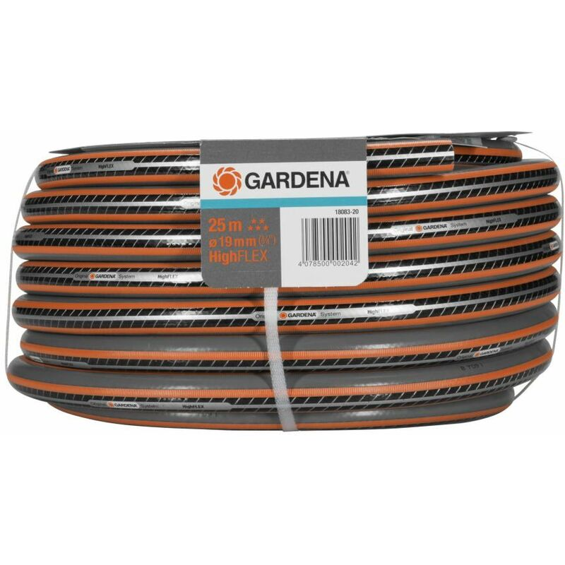3//4 18022 GARDENA Classic Schlauch Gartenschlauch 19mm 20 m ohne Systemteile
