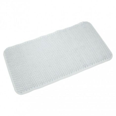 Comfort PVC Bath Mat - Clear 650mm x 370mm