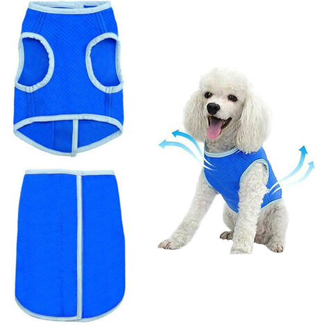 Comfortable Pet Dog Vest Puppy Coat Cooling Clothing T-Shirt