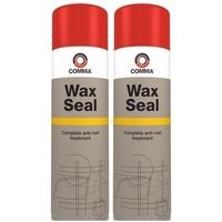 Comma Wax Seal Anti Rust Treatment And Underbody Protection WS500M 500ml Aerosol Twin Pack
