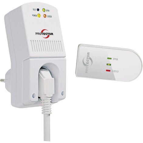 Commande d'aération sans fil Protector AS 5020 1300 W blanc S87228