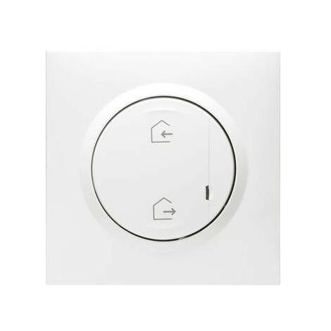 Commande générale sans fil pour installation connectée - Dooxie with Netatmo - Départ/Arrivée - Blanc
