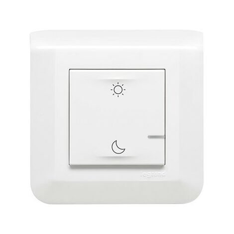 Commande sans fil lever/coucher - Connectée - Mosaic with Netatmo - Blanc