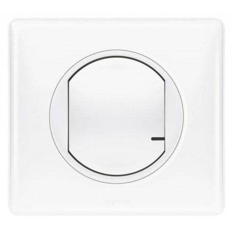 Commande sans fil pour éclairage ou prise connectée ou micromodule Céliane with Netatmo graphite