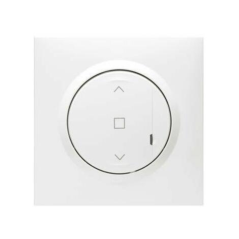 Commande sans fil pour interrupteur de volet roulant connectée - Dooxie with Netatmo - Blanc