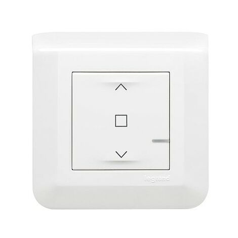 Commande sans fil - Pour interrupteur de volets-roulants - Mosaic with Netatmo - Blanc