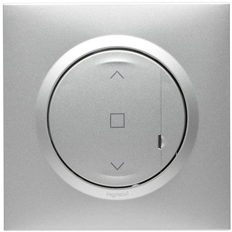 Commande sans fil pour interrupteur volet roulant Dooxie with Netatmo - Alu - 600187 - Legrand