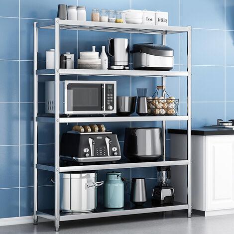 Commercial Catering Stainless Steel Shelves Kitchen Storage Rack Shelf 150cm