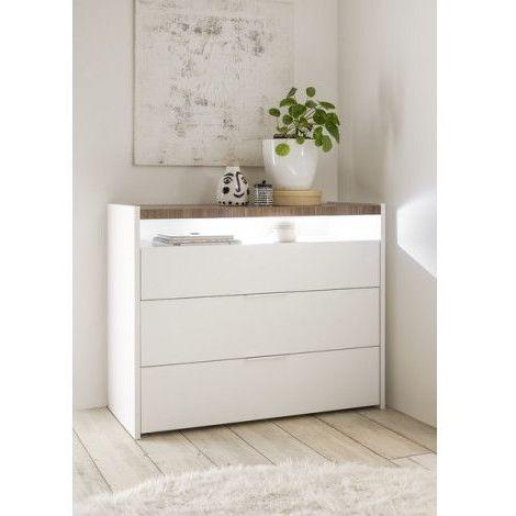Commode FULL 111 x 95 x 50 cm stelvio - Blanc