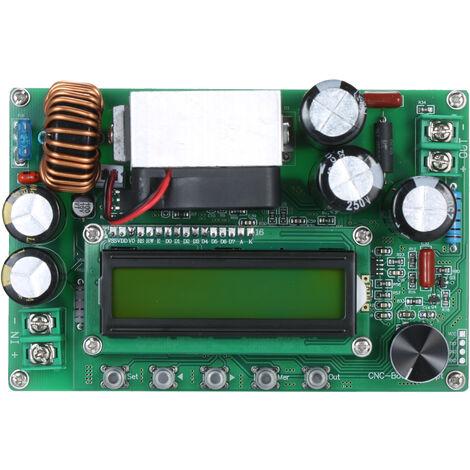 Communication Computer Mppt Boost Buck Converter 800W 10-65V A 12-120V Ecran Lcd Numerique Automatique Step Up Buck Boost Converter Module D'Alimentation Reglable Conseil