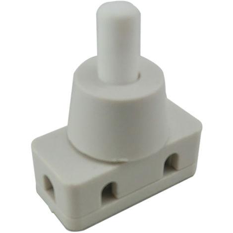 Commutateur à bouton-poussoir, Verrouillable, Interrupteur marche/arrêt 1 pôle, 20 A, Montage panneau
