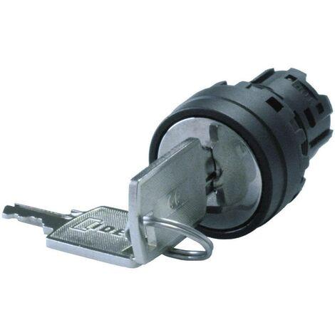 Commutateur à clé Idec YW1K-32D YW1K-32D noir 2 x 45 ° 1 pc(s)