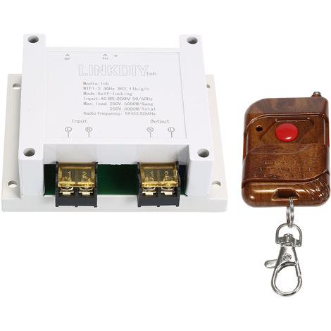 Commutateur Intelligent De 433Mhz Wifi, Module De Commutateur A Telecommande Sans Fil, 1Ch