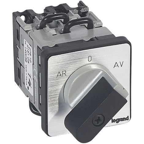 Commutateur moteur 3P - inverseur 1 vitesse - PR 12 - 5 contacts - fix vis