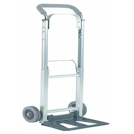 Compact Folding Hand Truck Silver 313195 - SBY07255