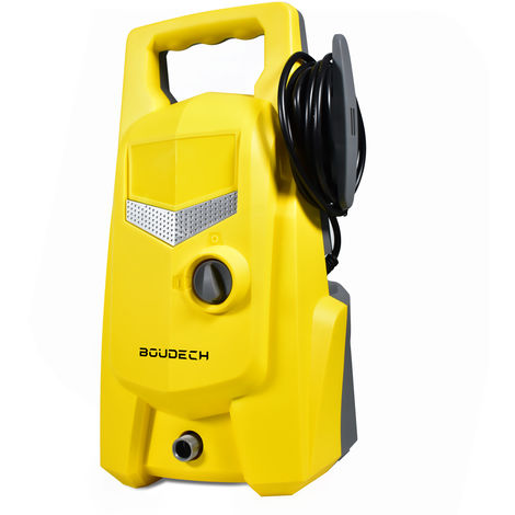 Compact High Pressure Jet Cleaner Washer 105 Bar 1400W - 6,2 L/Min with accessories