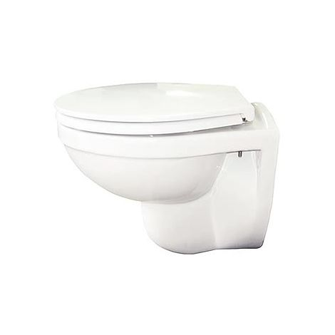 Compact Rimless Wall Hung Toilet with Soft Close Seat