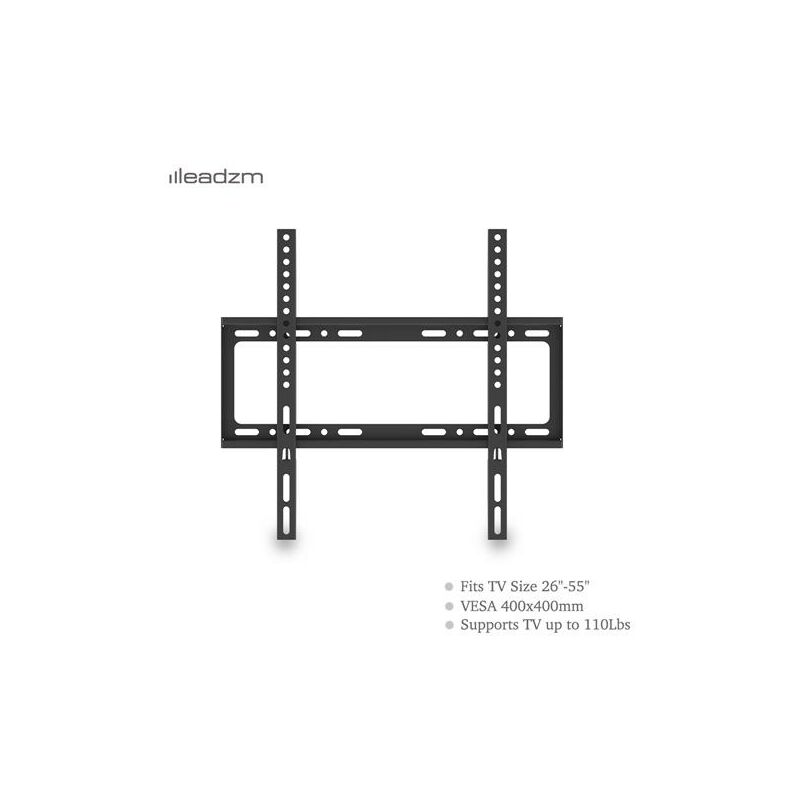 Image of Compact TV Wall Bracket Mount for 26'-55' LCD LED Plasma Television