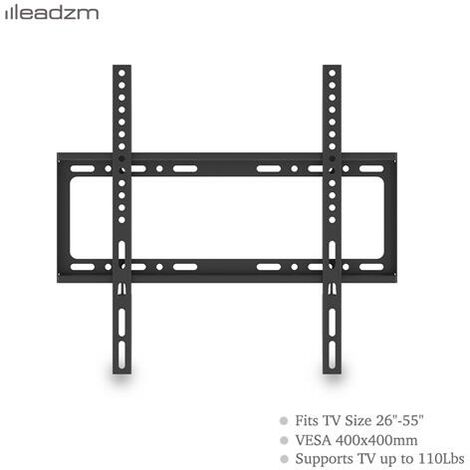"Compact TV Wall Bracket Mount for 26""-55"" LCD LED Plasma Television"