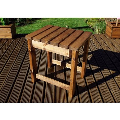Companion Table, wooden garden furniture, fully assembled