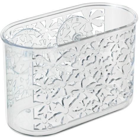 Compartimento universal transparente formato pequeño, motivo Floral WENKO