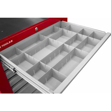 Compartiments pour armoires à tiroirs MW-Tools LVDELK
