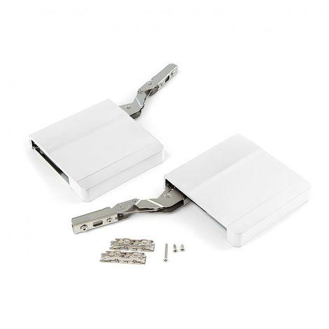 Compás para puerta elevable Agile Emuca H color blanco