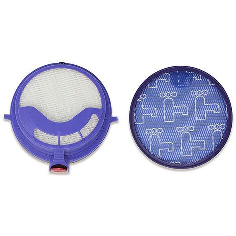 Compatible avec le prefiltre d'aspirateur a main Dyson DC25 et le filtre HEPA haute efficacite bleu