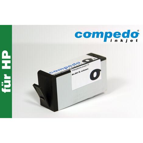 Compedo Cartouche d'imprimante recyclée CN384 HP364XL noir