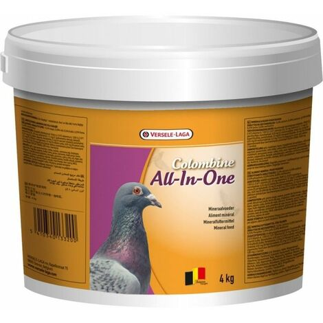 complejo mineral ALL IN ONE VERSELE LAGA para palomas cubo 4 kg