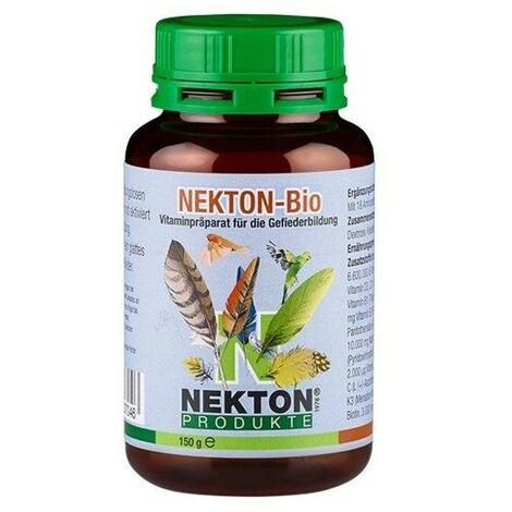 Complejo vitaminico NEKTON BIOTIN estimula el crecimiento de las plumas 330 gr.