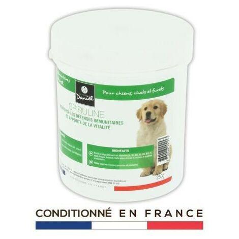 Complement alimentaire Spiruline riche en vitamine pour animaux - 250g LesRecettesdeDaniel