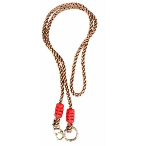 Complement of Artificial Hemp Cordage 0.95m Swing Unique Product Connecting Belt Connection Cord Adjustment of the PE-RED Swing Extension Branch