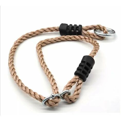 Complement of artificial hemp rope 0.95m swing single product connecting belt Adjustment cord Adjustment of the branch Extension of PE-black swing