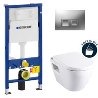 Complete pack toilets Geberit UP100 Solido (39186GEB2)
