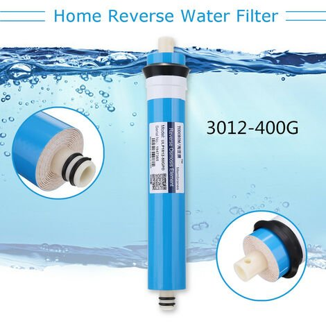 Complete Replacement Pr & Filters?Unit & ED & # 39;?Reverse Osmosis Ro Membrane 3012-400G