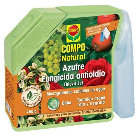Compo Azufre fungicida antioidio 450gr