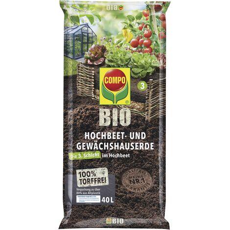 COMPO BIO Hochbeet-Erde 40 Liter