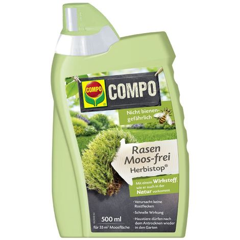 Compo Bio Rasen Moos-frei Herbistop 500 ml