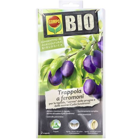Compo bio trappola feromoni prugne/susine 6 pz