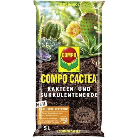 COMPO CACTEA® Kakteen- und Sukkulenten Erde 5 Liter