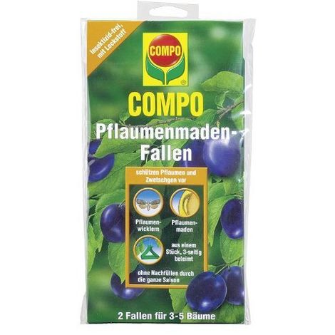 Compo Pflaumenmaden-Fallen 2 Stück