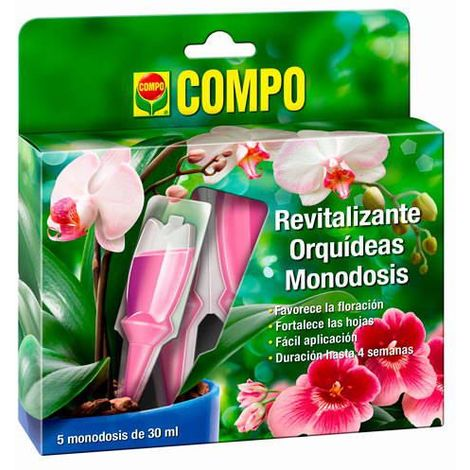 Compo Revitalizante Orquídeas Monodosis 5X30ml 30 ml