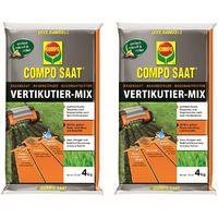 Compo SAAT® Vertikutier-Mix 4 kg für 133 m² 2er Set