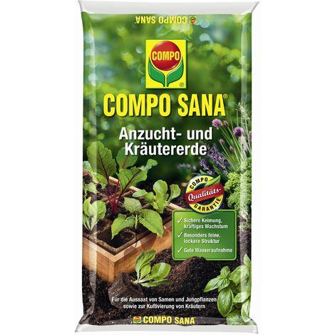COMPO SANA® Anzucht- und Kräutererde 10 Liter